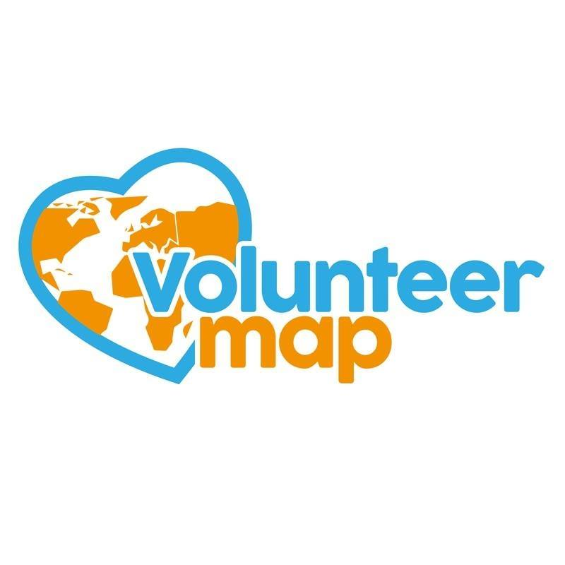 logo volunteer map