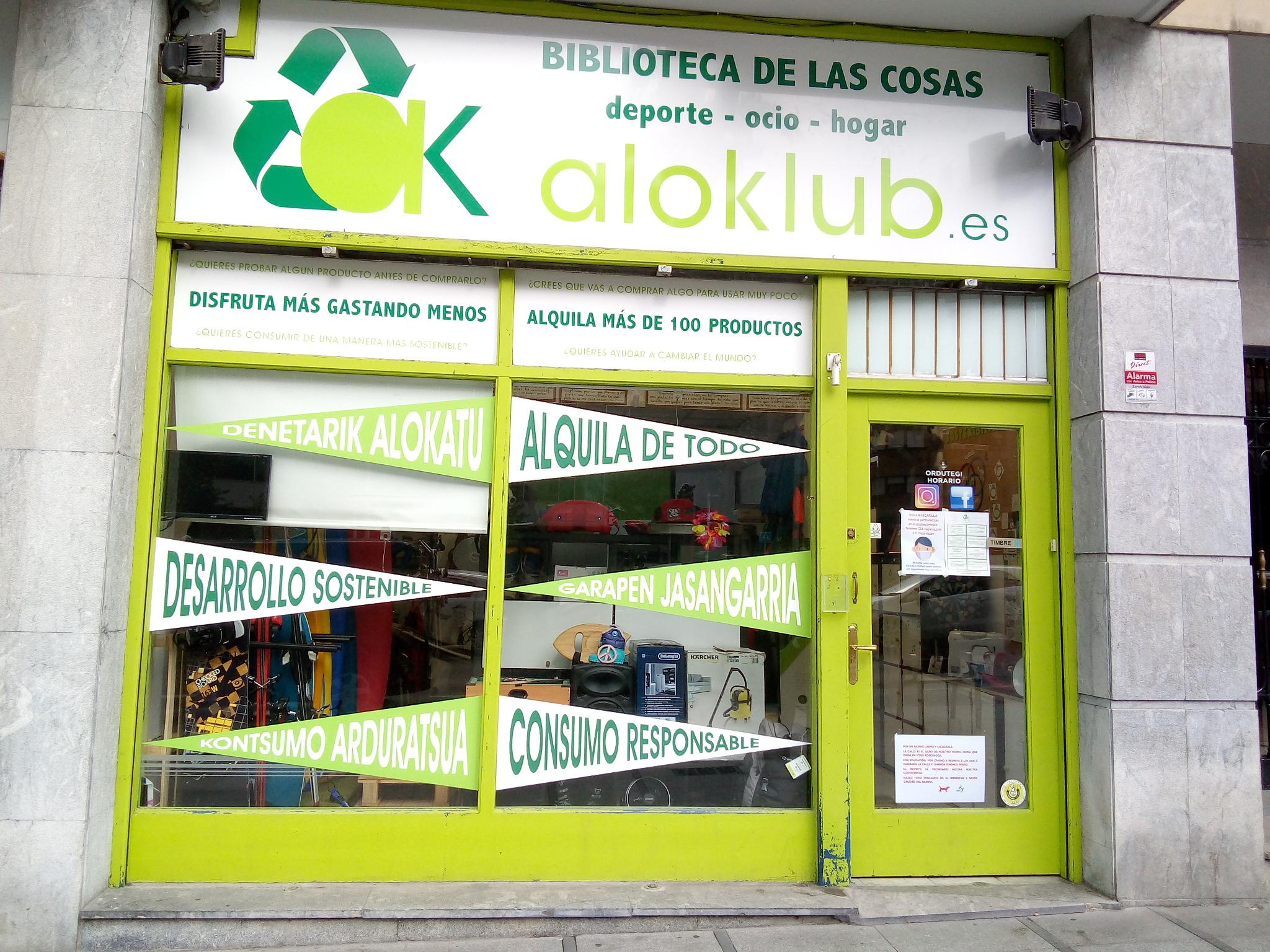 Aloklub es más que un sitio de alquiler, tiene el espíritu de la economía circular.