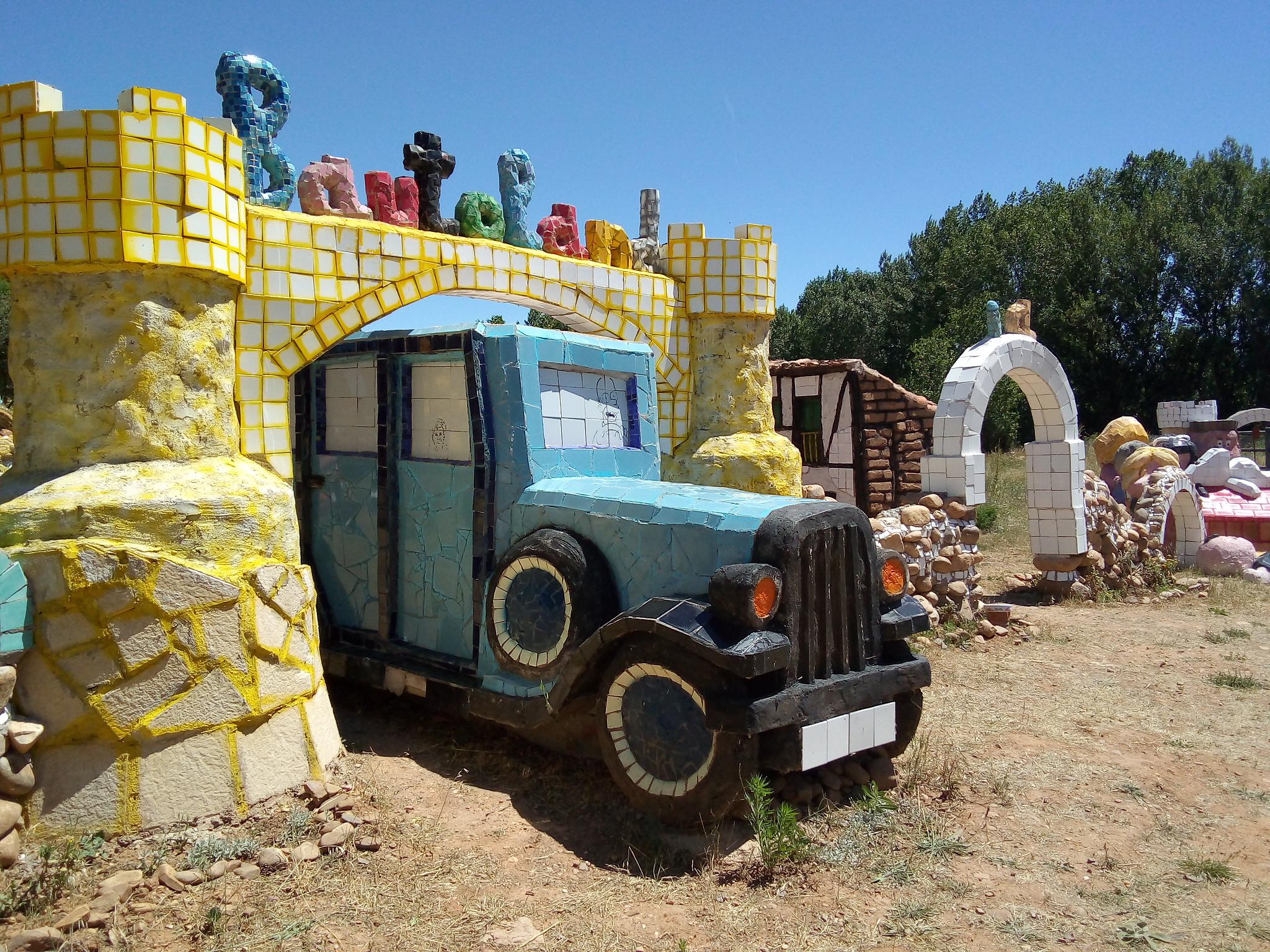 Bautoland está en construcción y es la parte de Territorio Artlanza para los y las peques.