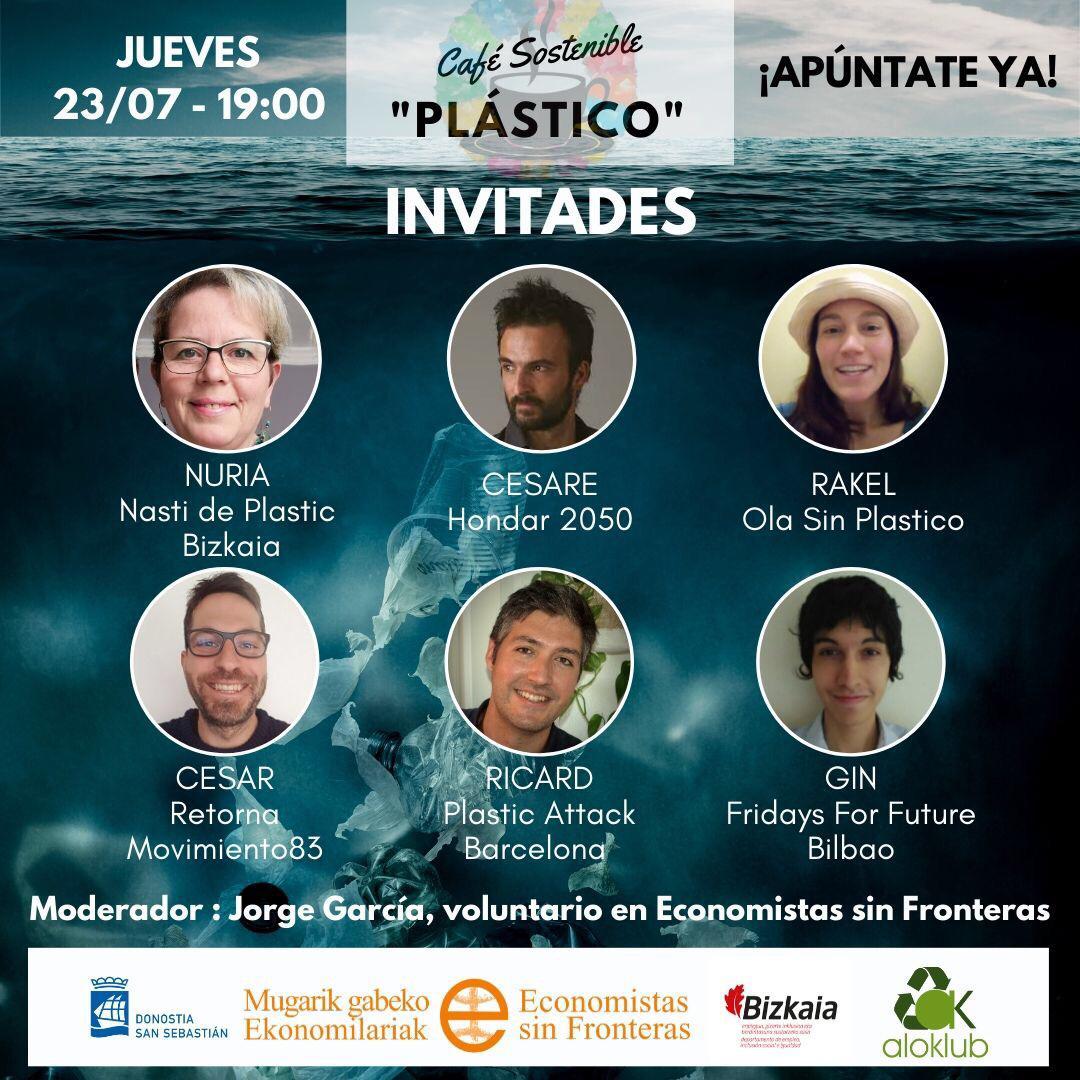 Dentro del mes de julio sin plástico de 2020 colaboramos en este coloquio para profundizar en la problemática del plástico y hablar sobre por dónde irían encaminadas las posibles soluciones a este problema.
